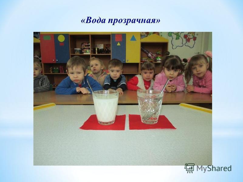 «Вода прозрачная»