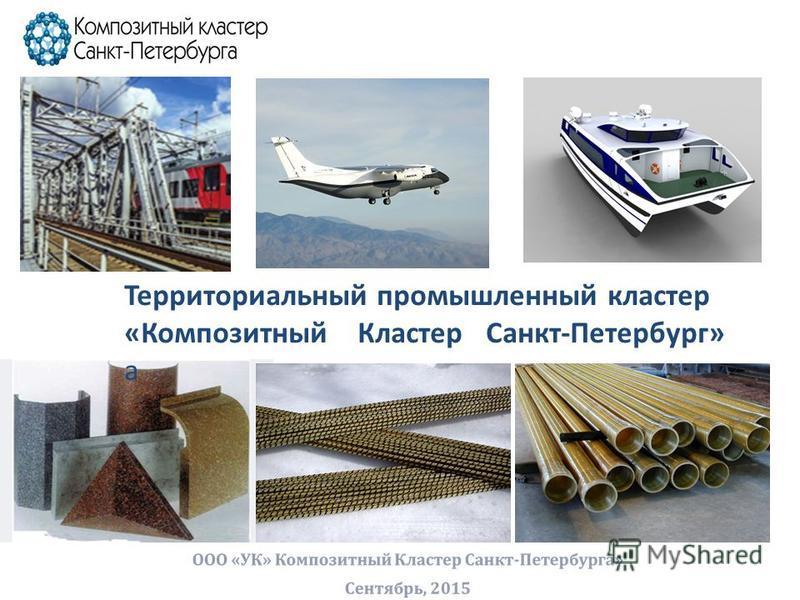 Территориальный промышленный кластер «Композитный Кластер Санкт-Петербург» а