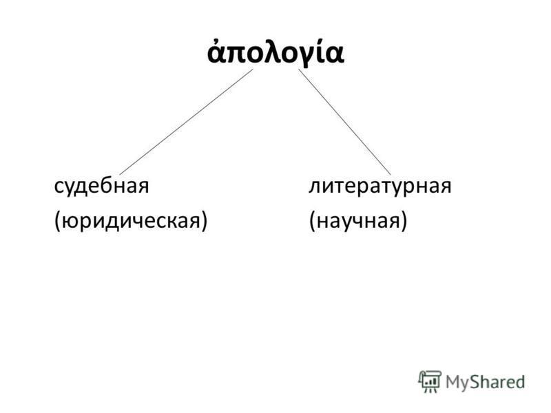 πολογα судебная литературная (юридическая)(научная)