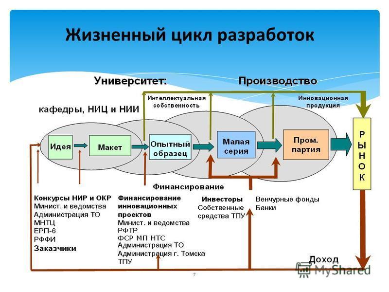 7 Жизненный цикл разработок