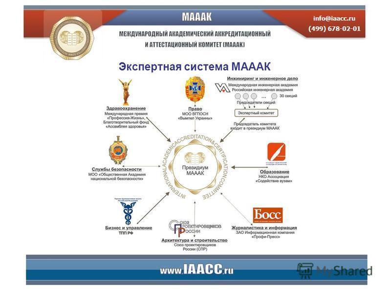 Экспертная система МАААК