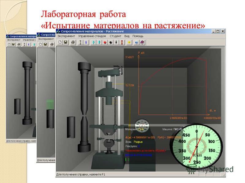 Лабораторная работа «Испытание материалов на растяжение»