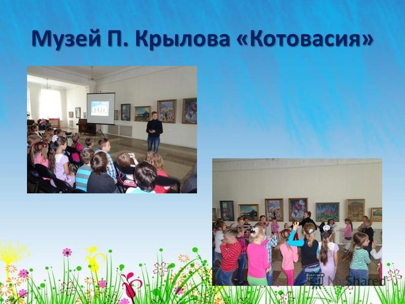 Музей П. Крылова «Котовасия»