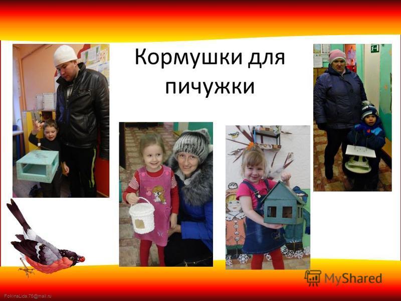 FokinaLida.75@mail.ru Кормушки для пичужки