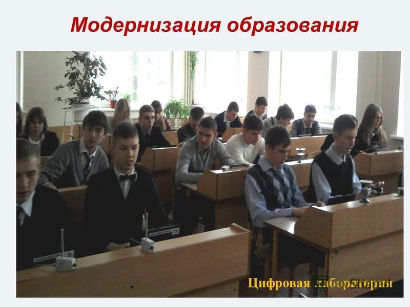 Модернизация образования Цифровая лаборатория
