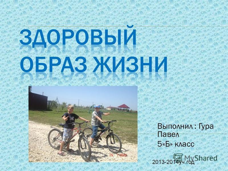 Выполнил : Гура Павел 5«Б» класс 2013-2014 уч.год