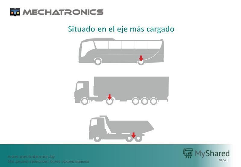 www.mechatronics.by Мы делаем транспорт более эффективным Slide 3