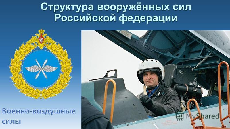 Структура вооружённых сил Российской федерации