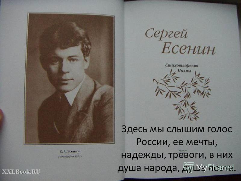Здесь мы слышим голос России, ее мечты, надежды, тревоги, в них душа народа, душа поэта.