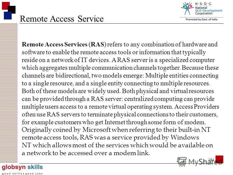SKILLS FOR INDIA Remote Access Mode