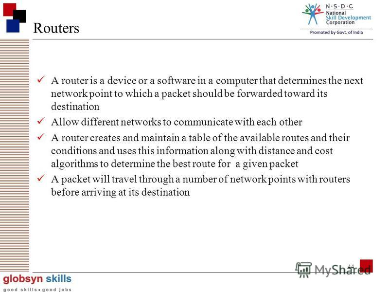 43 A gateway is a network point that acts as an entrance to another network. On the internet, in terms of routing, the network consists of gateway nodes and host nodes Host nodes are computer of network users and the computers that serve contents (su