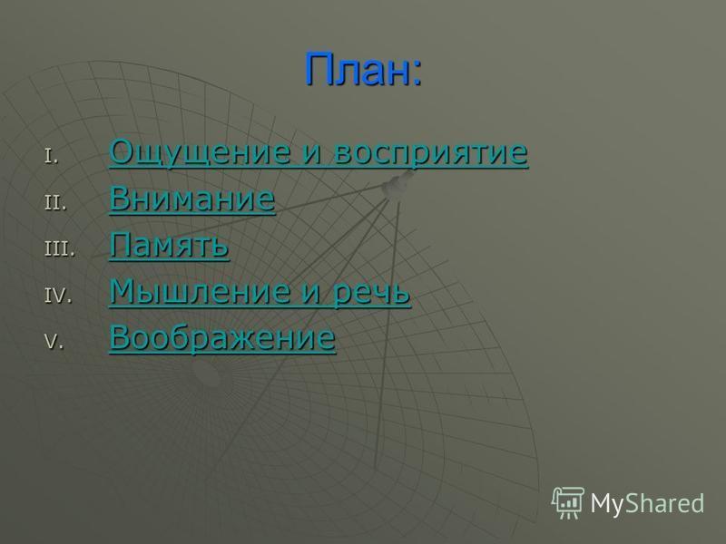 Психология познавательных процессов