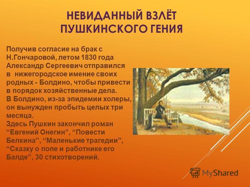 где познакомился пушкин с гончаровой