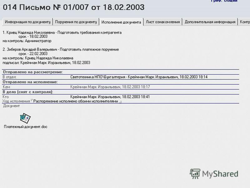 ДЕПАРТАМЕНТ СИСТЕМ ДОКУМЕНТАЦИОННОГО ОБЕСПЕЧЕНИЯ УПРАВЛЕНИЯ www.it.ru