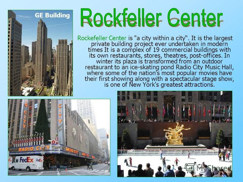 Rockefeller Center is