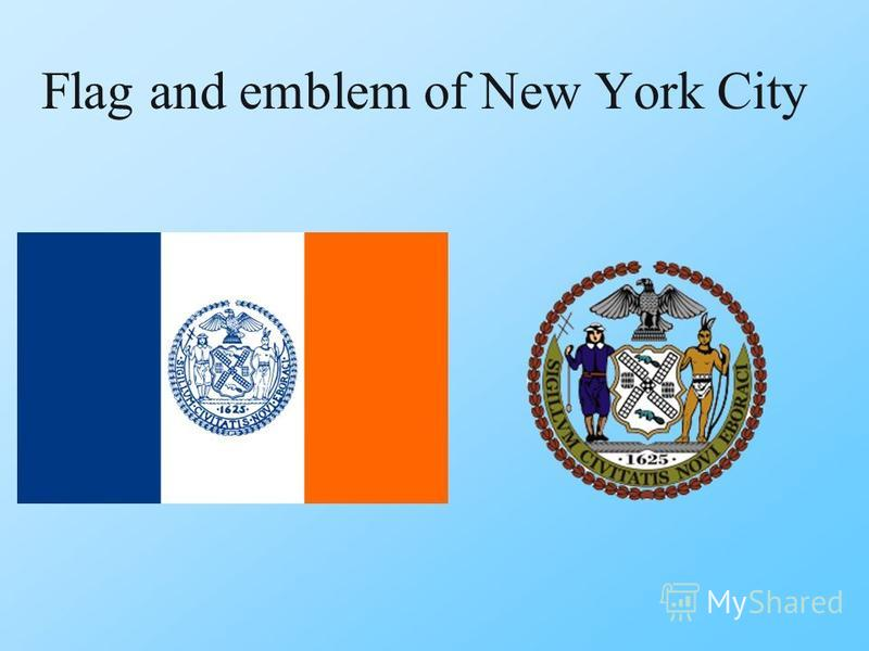 Flag and emblem of New York City