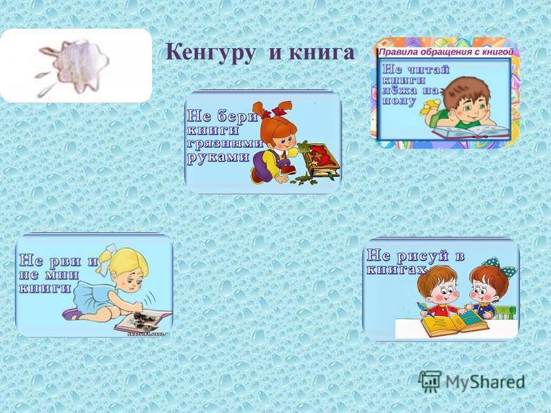 Кенгуру и книга
