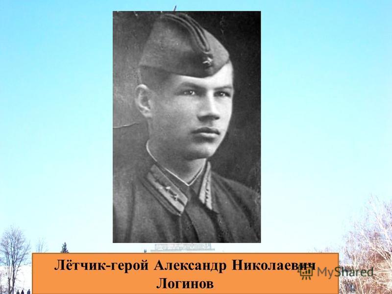 Лётчик-герой Александр Николаевич Логинов