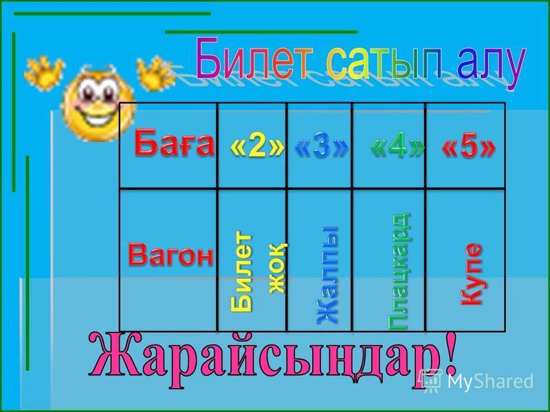 1) 2) 3) 4) 5) Математикалық диктант