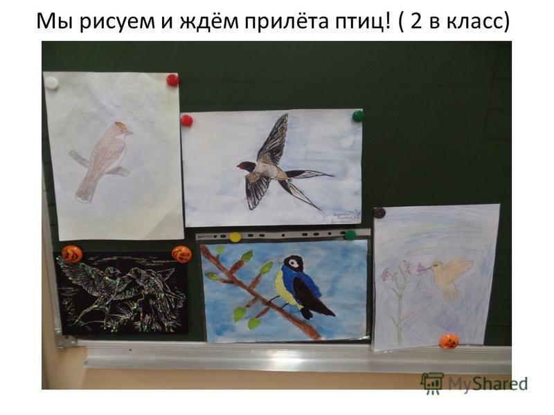 Мы рисуем и ждём прилёта птиц! ( 2 в класс)