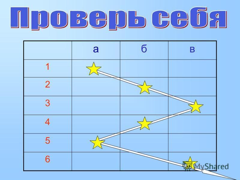 абв 1 2 3 4 5 6