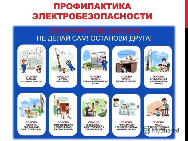 ПРОФИЛАКТИКА ЭЛЕКТРОБЕЗОПАСНОСТИ