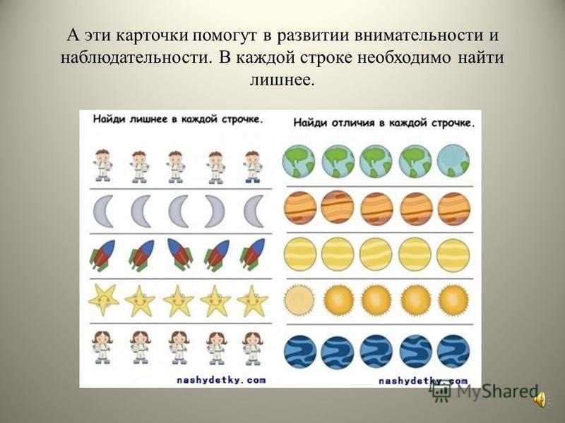 Эти карточки можно использовать для составления рассказа о планетах Солнечной системы, космических телах, космонавтах. Такое занятие прекрасно развивает речь, воображение, мышление, логику. А можно поиграть с такими карточками так, как и с предыдущим