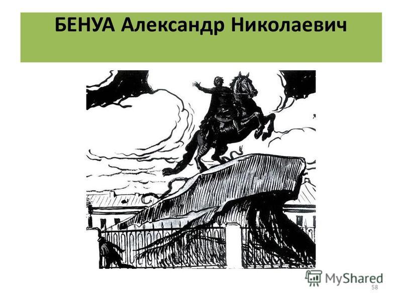 БЕНУА Александр Николаевич 58