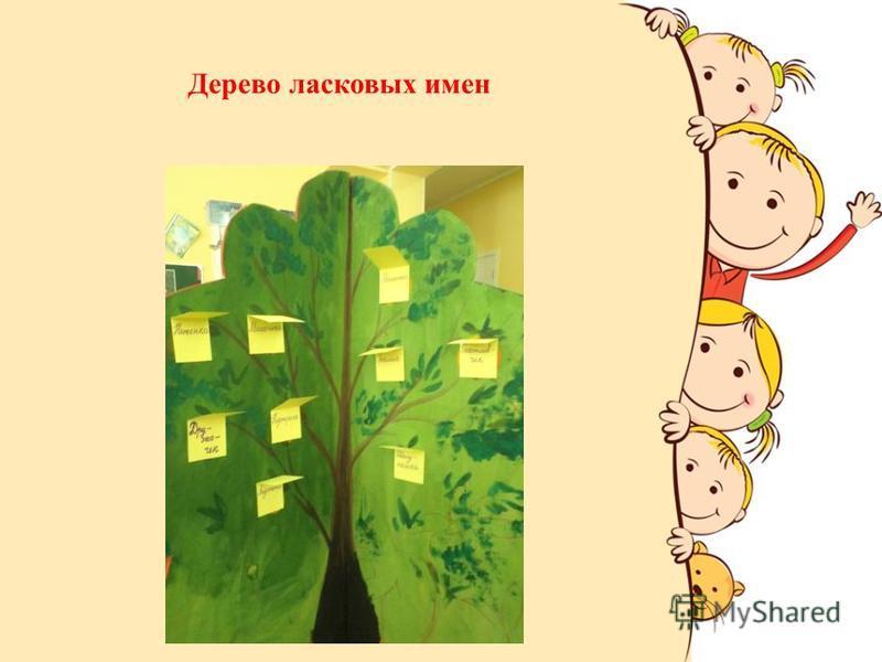 Дерево ласковых имен