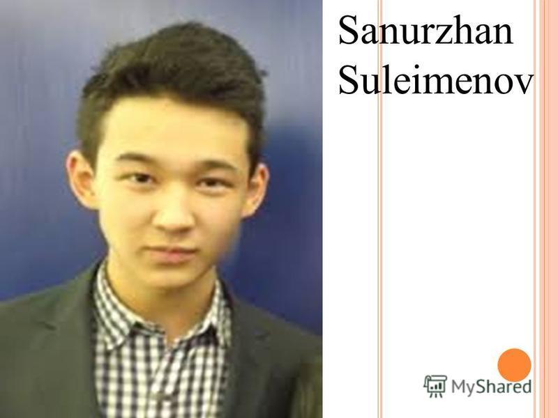 Sanurzhan Suleimenov