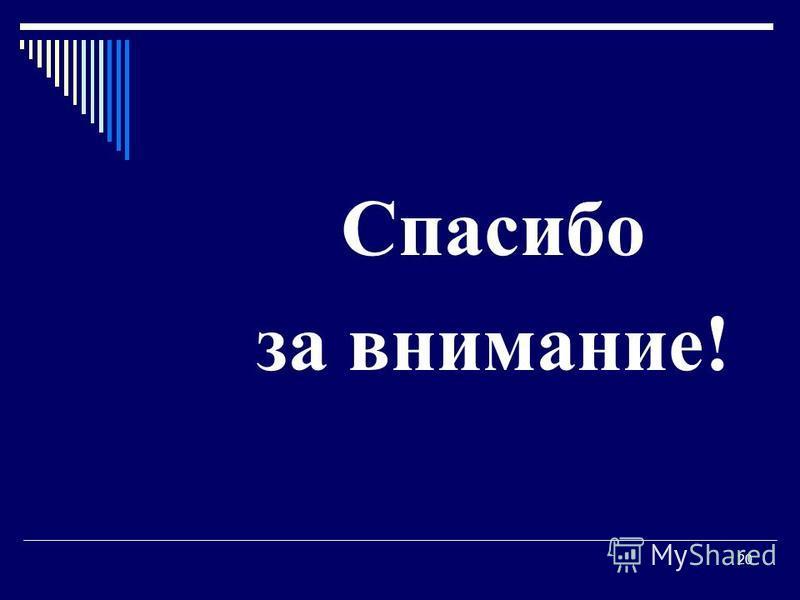 Гречановская И.Г. Экономика предприятия.- ОГАСА, 2008.-Л 13. 20 Спасибо за внимание!