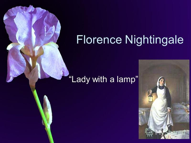 Florence Nightingale Lady with a lamp