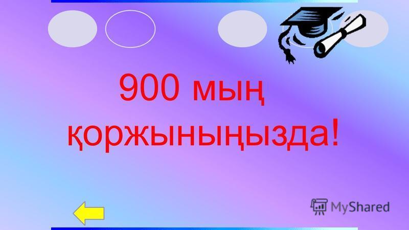 800 мың қоржыныңызда!