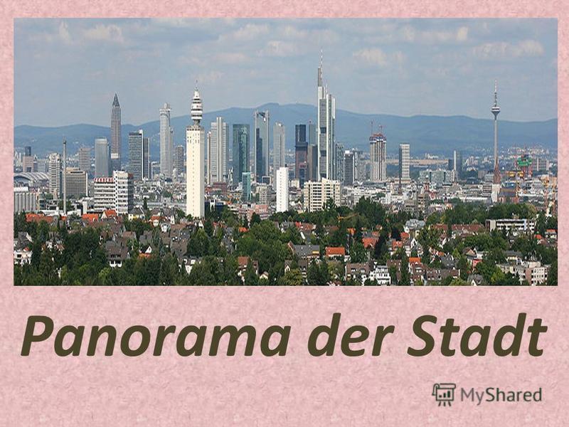 Panorama der Stadt