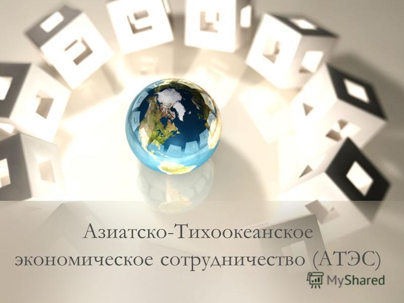 Азиатско-Тихоокеанское экономическое сотрудничество (АТЭС)