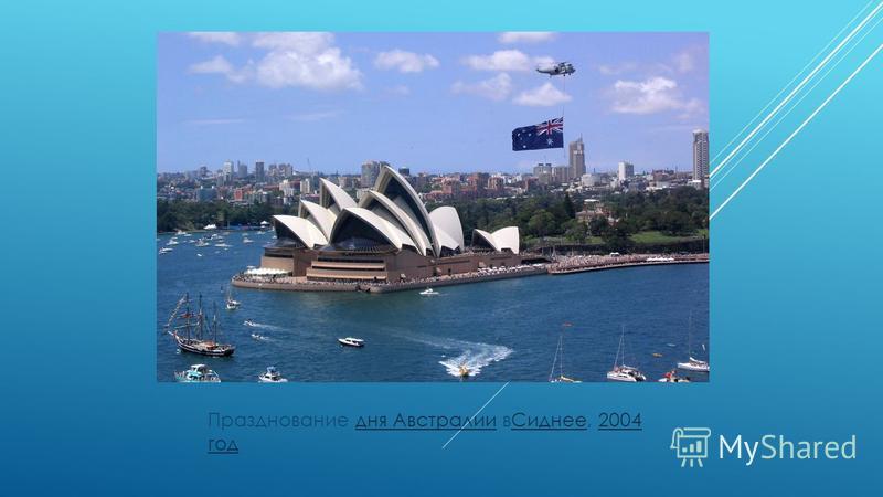 Празднование дня Австралии в Сиднее, 2004 год дня Австралии Сиднее 2004 год