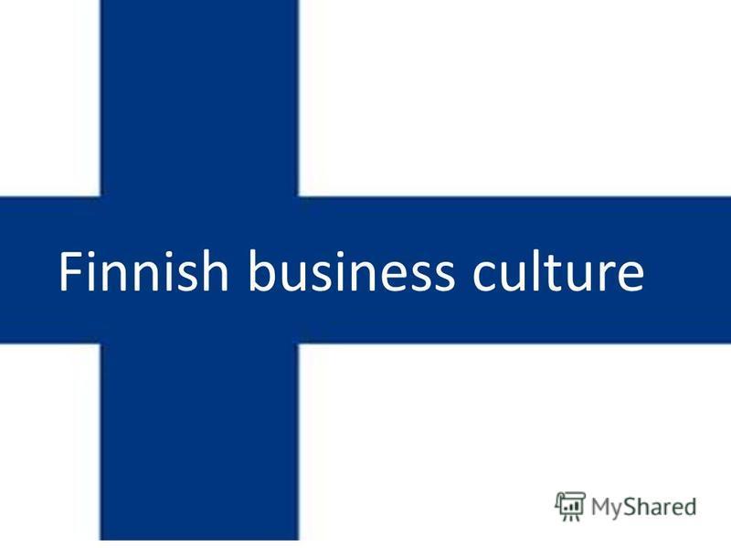 Finnish business culture