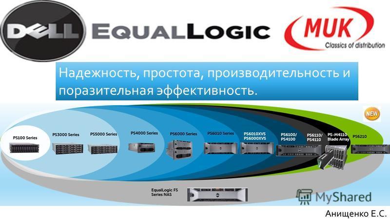 Анищенко Е.С. Надежность, простота, производительность и поразительная эффективность.