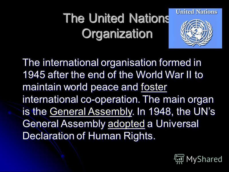 a history of the united nations and the issues it addresses in the world The history of the united states is the united states was one of the richest and most powerful nations in the world other issues facing the united states are.