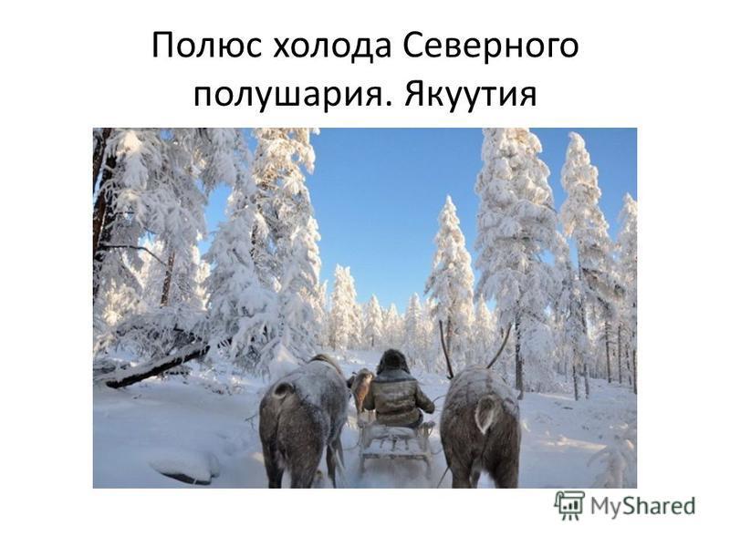 Полюс холода Северного полушария. Якуутия