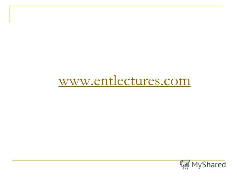 www.entlectures.com