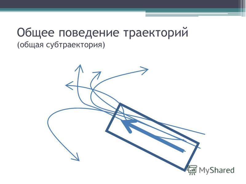 Общее поведение траекторий (общая суп траектория)