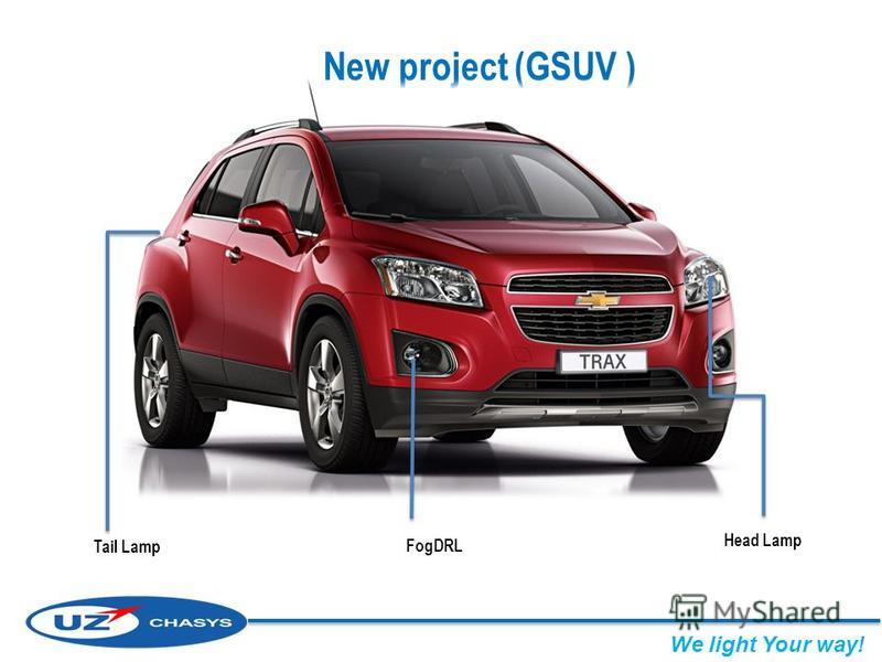 New project (GSUV ) Head Lamp Tail Lamp FogDRL We light Your way!