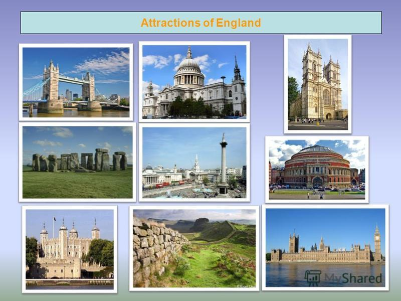 Attractions of England