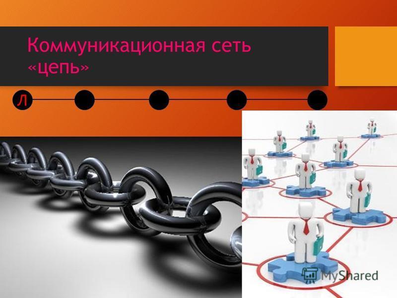 Коммуникационная сеть «цепь» Л