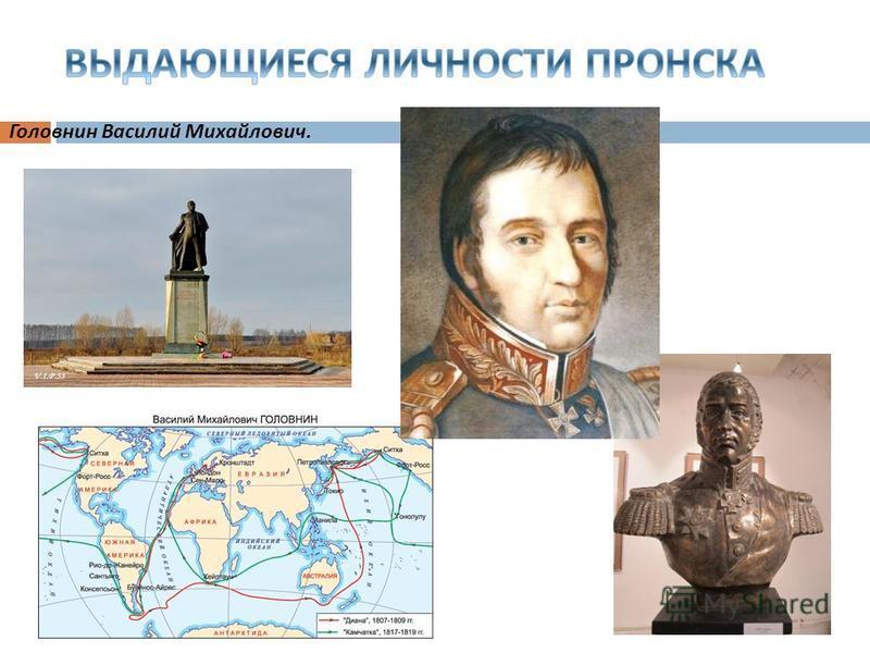 Головнин Василий Михайлович.