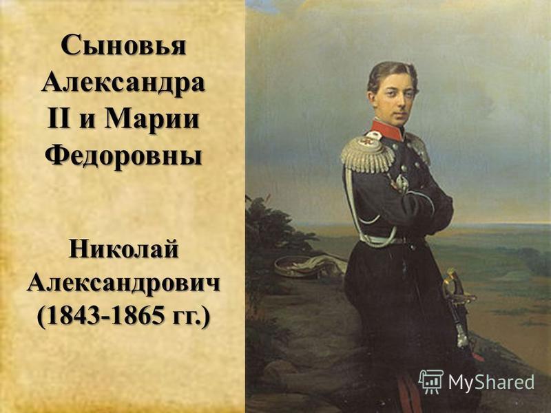Николай Александрович (1843-1865 гг.)
