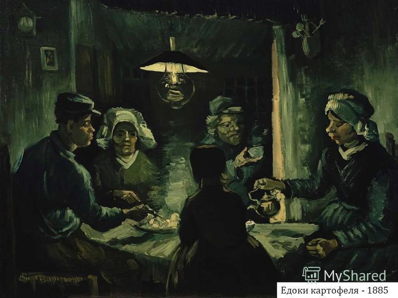 Едоки картофеля - 1885