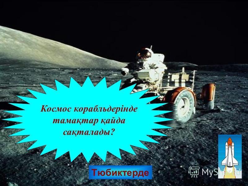 Тюбиктерде Космос корабльдерінде тамақтар қайда сақталады?