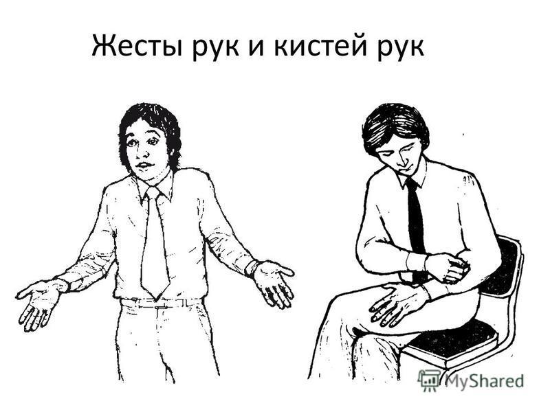 Жесты рук и кистей рук